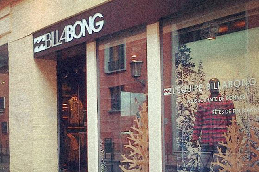 Meelk Billabong Boutique Retail Enseigne