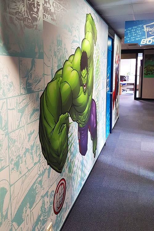 Meelk Hasbro Siege Social Bache Tendue Hulk