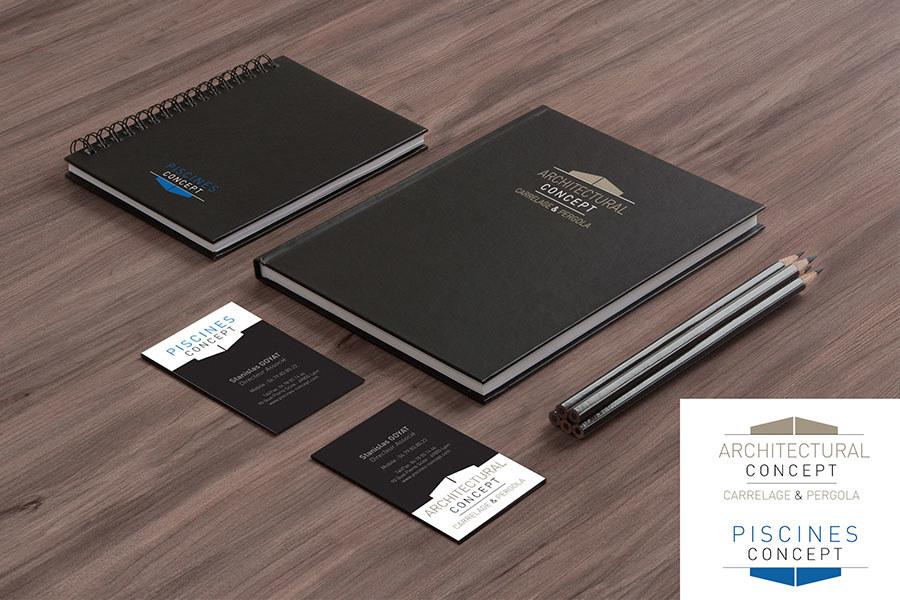 Meelk Piscine Concept Branding