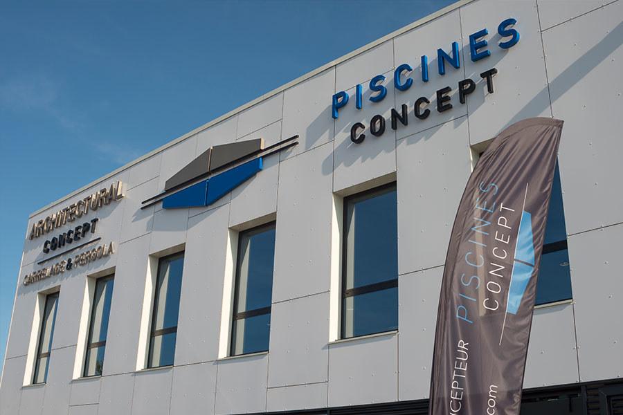 Meelk Piscine Concept Retail Enseigne