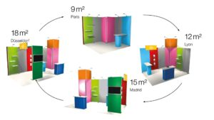 Stand Modulaire Cycle
