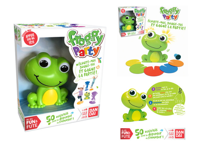 BANDAI FROGGY MEELK