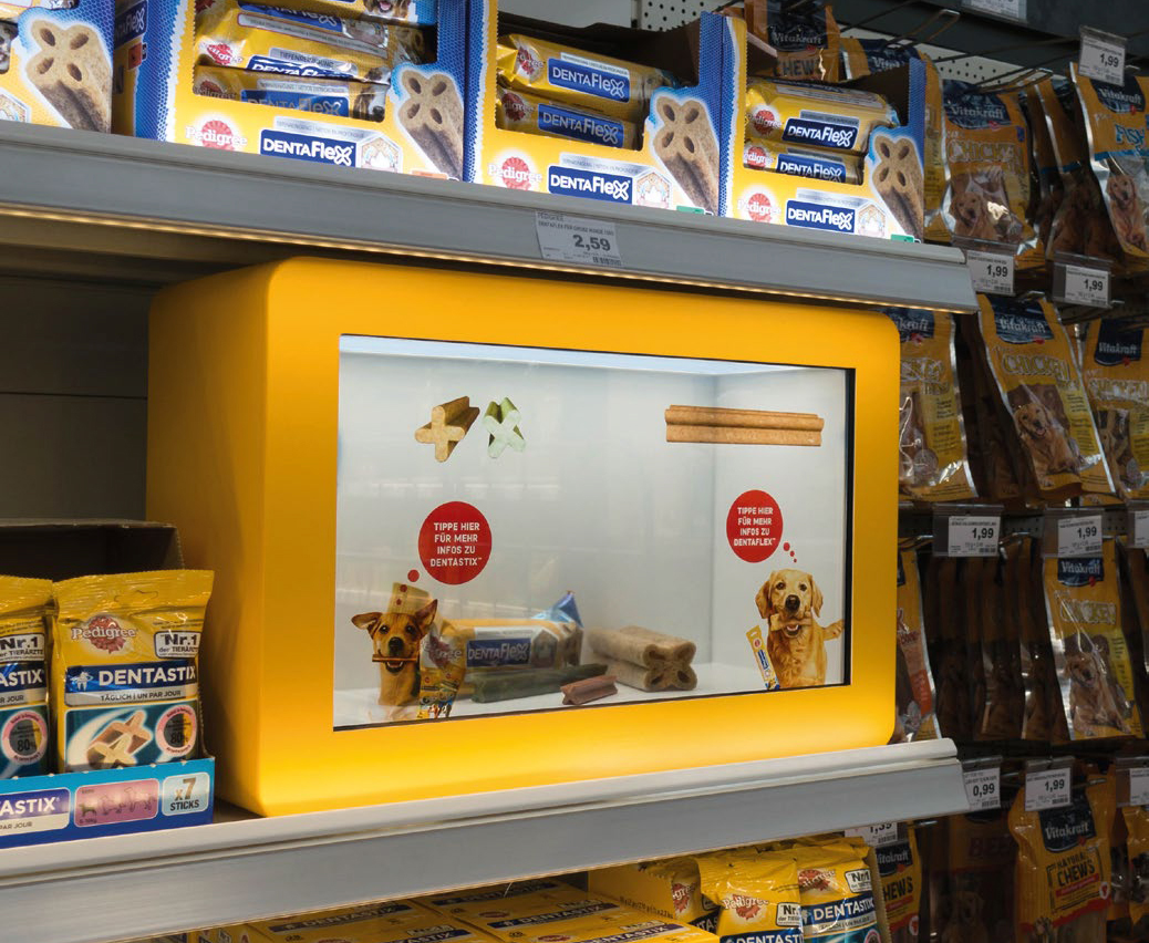 Retail Magasin Pedigree Phygital Demo