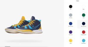3D Chaussures Nike Personnalisation Immersion Produit Virtuel